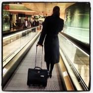 Bon dia!!! Destí: capital dels espanyols     by Ignasi Clapers airport, bcn, crew, passengers, pontaeri, t1,