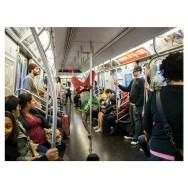 Color by gaetana gagliano nyc, passengers, subway,