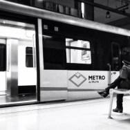 Waiting by Núria Rodríguez feet, metro, passengers, piessengers,