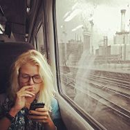 In a quiet moment by southcoasting batterseapowerstation, blonde, passengers, shesonthephone, traingame,
