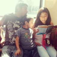 Brothers and sister by southcoasting mexicocity, passengers,