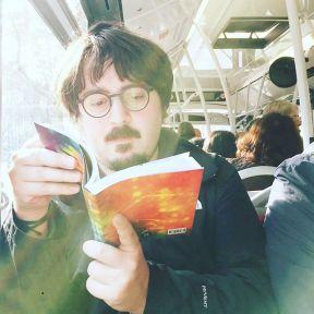 Reader by Fran Simó instagram, passengers,