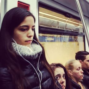 Thoughts by Fran Simó barcelona, passengers, womenarebeautiful,