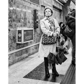 Avenida de América by Antonio Jiménez Lara commuters, madrid, metro, passengers, people, streetlife, streetphotography, streetphotomadrid, total_streets, urban,