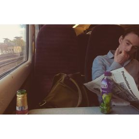 His ribena, my beer by southcoasting batterseapowerstation, passengers, traingame,