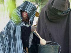 """Les sorcières, spectacle """"Cuchulain"""""""