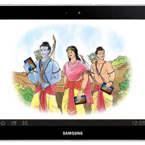 Ravana lost as he never had a Samsung Tab