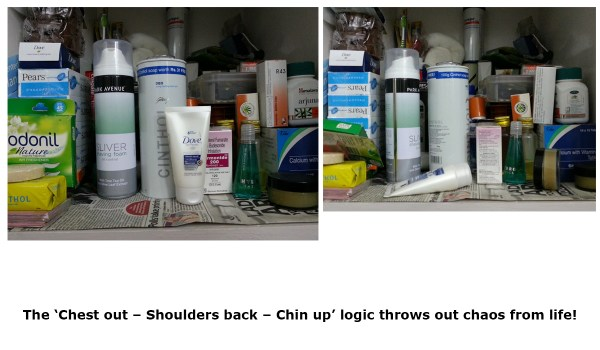 Chest out – Shoulders back – Chin up_Toiletries