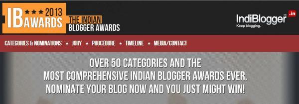 IndiBlogger Awards
