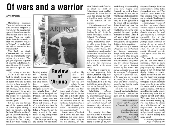 2014_01_27_The Education Post_review_of wars and a warrior (Large)
