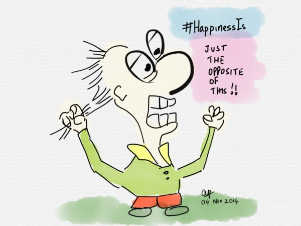 #HappinessIs...