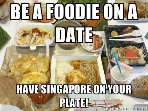 Singapore meme_Food and Singapore go together