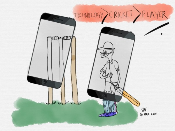 Technology will continue to flirt with cricket as ithe equation is... Technology>Cricket>Player