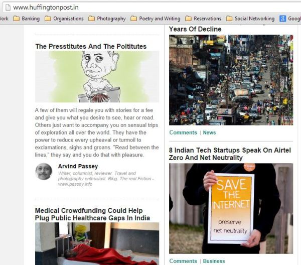 2015_04_11_The Huffington Post_The presstitutes and the Poltitutes_homepage