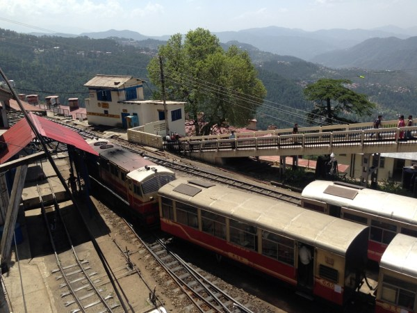 Shimla station from the top!