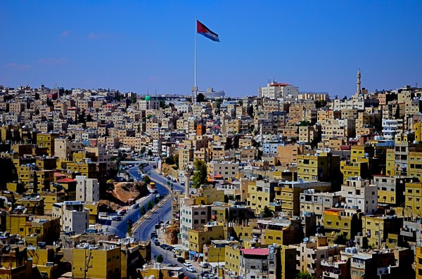 Picture clicked from the citadel in Amman... loved the cityscape that actually rhymes with the sandy landscape all around