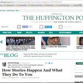 That's how stories happen