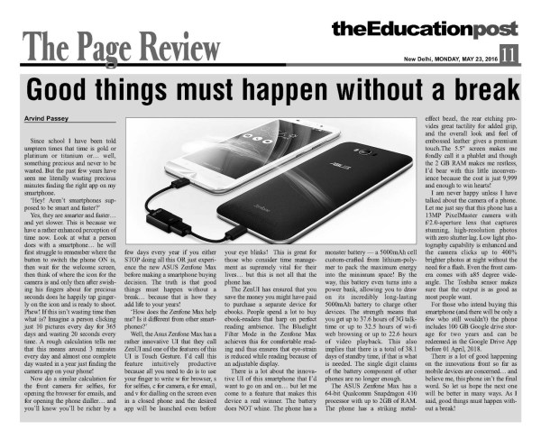 2016_05_23_The Education Post_ASUS Zenfone Max