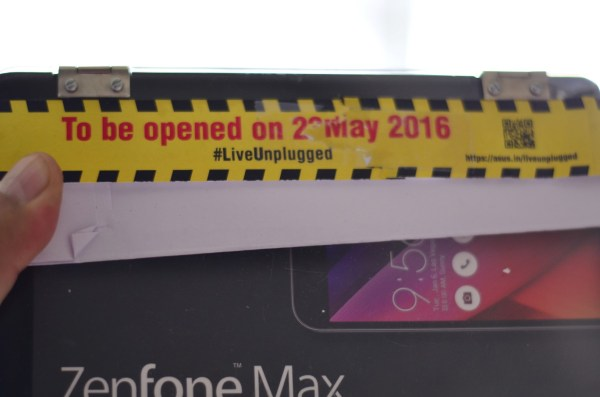 The instructions were clear... to be opened only on the 23rd of May 2016