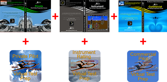 All in One Courses for all Tests - Pass FAA Flight Exams
