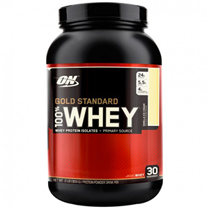 100% WHEY PROTEIN GOLD STANDARD – 909 G – OPTIMUM NUTRITION
