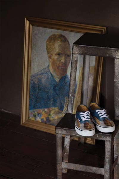 Vans x Van Gogh Museum auto-portrait