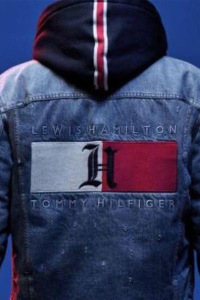 Tommy x Lewis, veste en jean