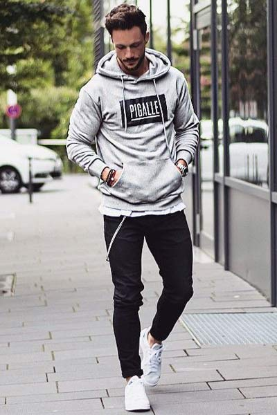hoodie homme comment porter
