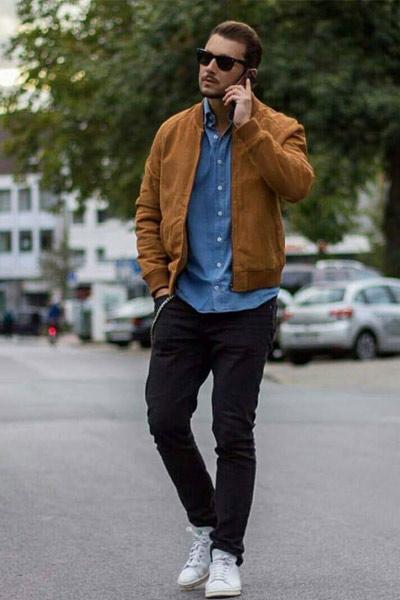 look casual chemise à la bonne taille homme