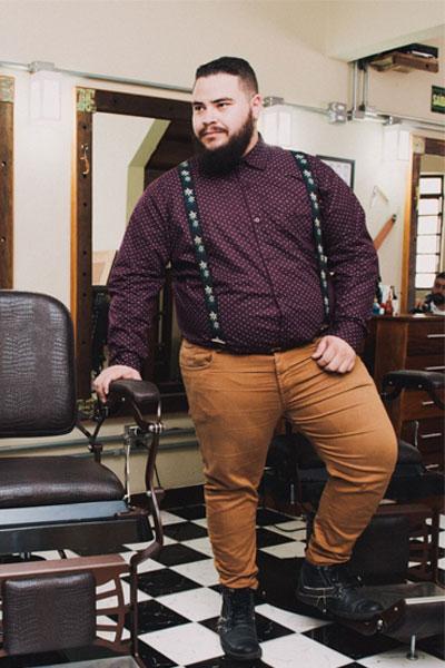 s'habiller quand on est fort homme