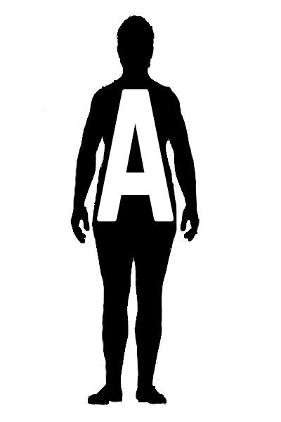 morphologie en A homme