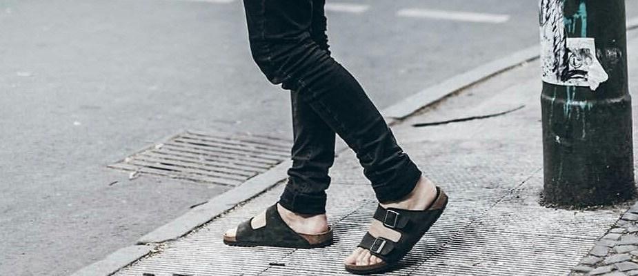 comment porter des sandales homme