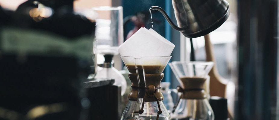 faire un café filtre
