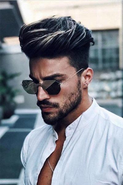 teinture de cheveux homme
