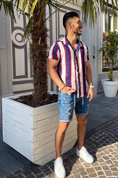 tenue d'été homme