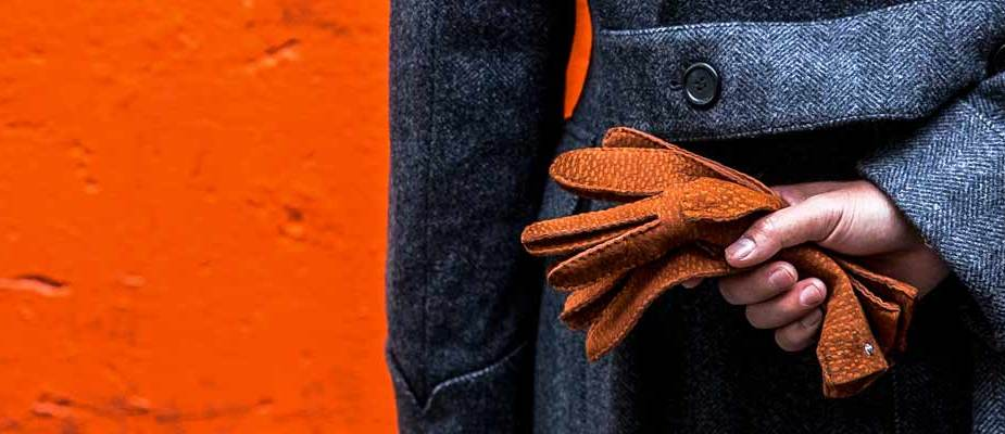 gants en cuir pour homme