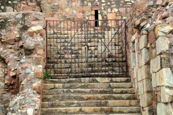 Walls of Purana Qila