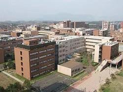 筑波大学の外観