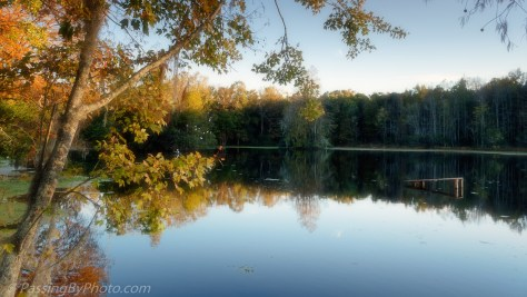 Ravenswood Pond Sun Going Down