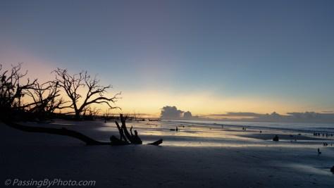 Pre-dawn At the Atlantic Ocean