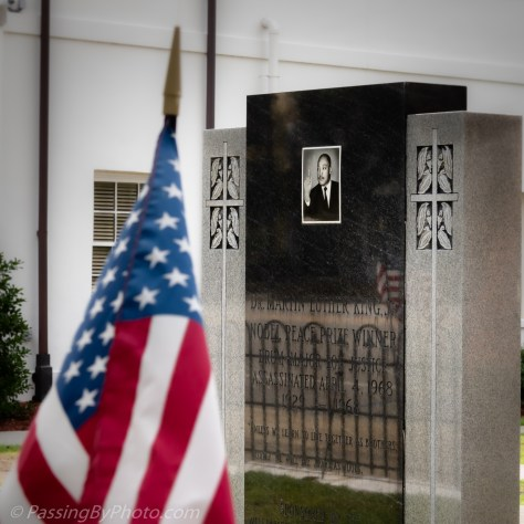 Williamsburg County Courthouse Memorial: Dr. Martin Luther King