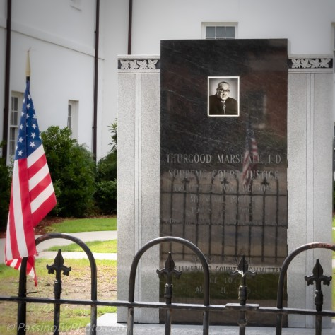 Williamsburg County Courthouse Memorial: Justice Thurgood Marshall