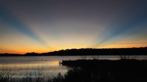 Sunrise, Mary's House Pond, Bear Island