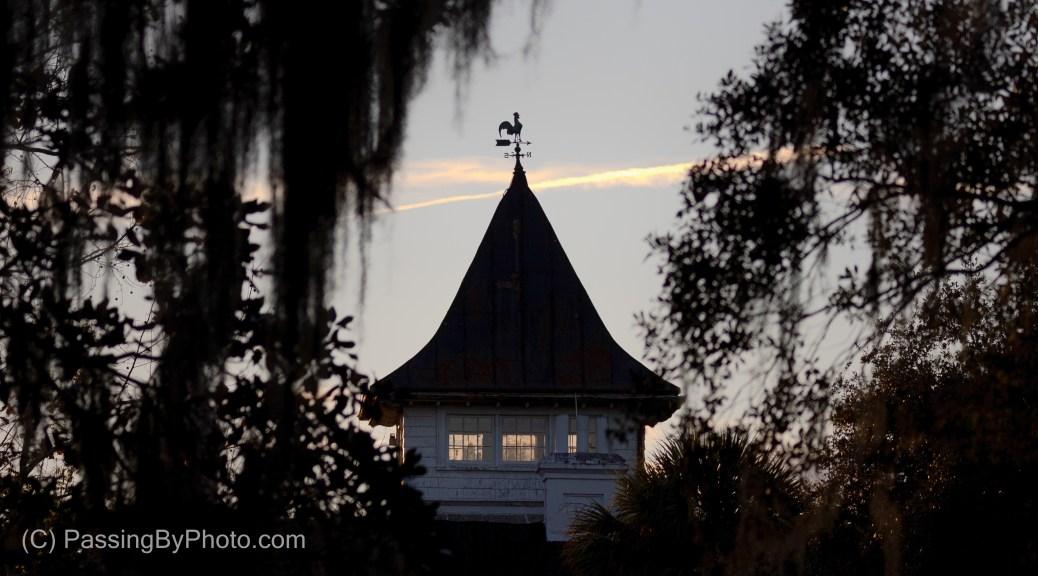 Magnolia Plantation House Weather Vane
