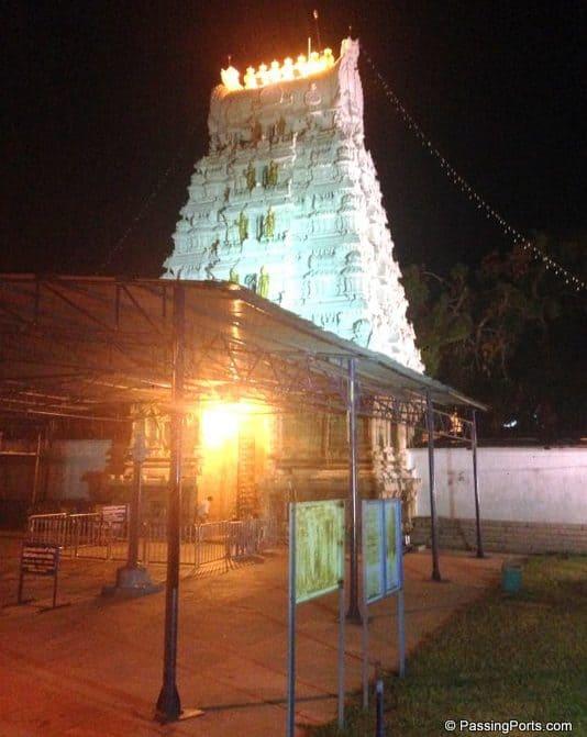 Srinivasa Mangapuram, Tirupati