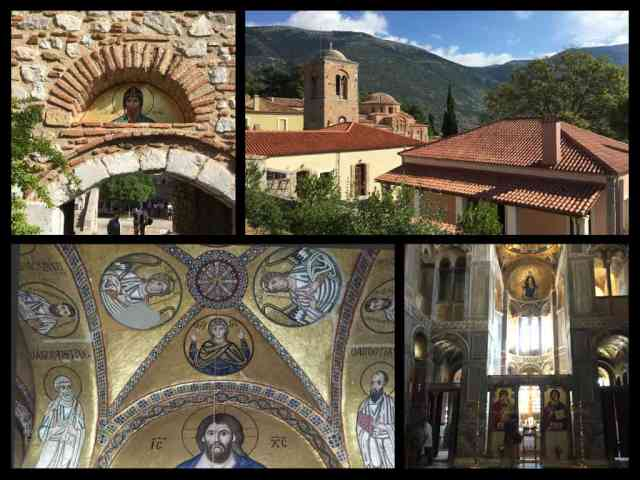 Inside the Hosios Loukas Monastery