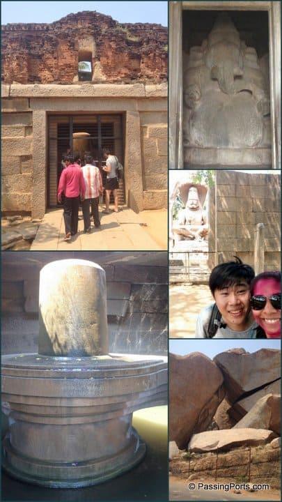 Ganesh Temple in Hampi