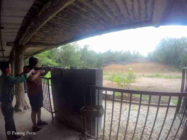 AK47 M16 Shooting