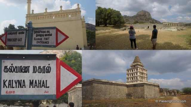 Gingee fort in Tamilnadu