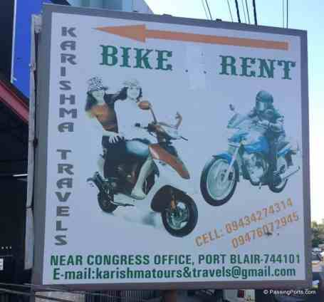 Rent two wheeler